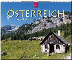 Österreich vom Bodensee zum Neusiedler See von Siepmann,  Martin