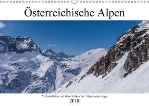 Österreichische Alpen (Wandkalender 2018 DIN A3 quer) von Fotografie,  ferragosto