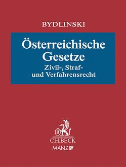 Österreichische Gesetze von Schauer,  Martin