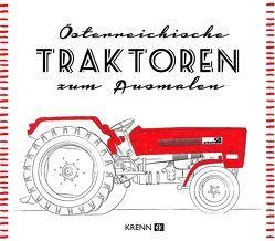 Österreichische Traktoren Malbuch von Krenn,  Hubert