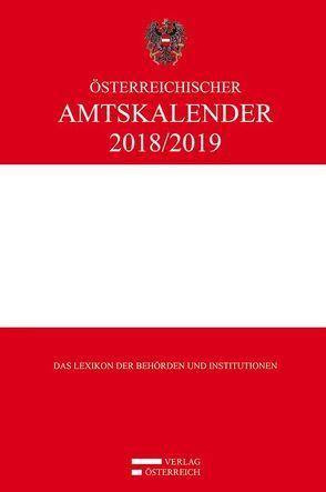 Österreichischer Amtskalender 2018/2019