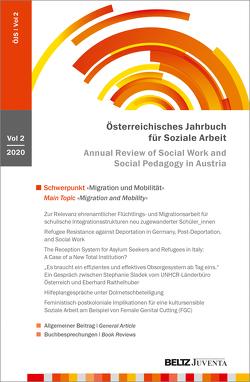 Österreichisches Jahrbuch für Soziale Arbeit (ÖJS) 2020 von Brandstetter,  Manuela, Bütow,  Birgit, Loch,  Ulrike, Raithelhuber,  Eberhard, Reicher,  Hannelore, Sting,  Stephan