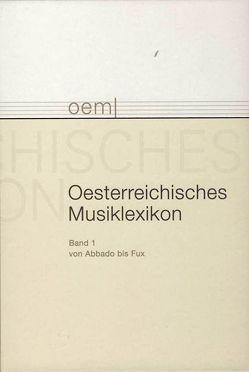 Österreichisches Musiklexikon / Österreichisches Musiklexikon von Flotzinger,  Rudolf