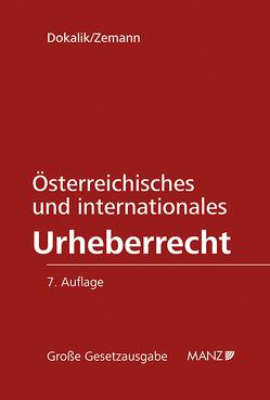 Österreichisches und internationales Urheberrecht von Dokalik,  Dietmar, Zemann,  Adolf