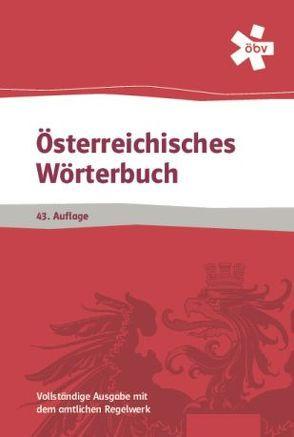 Österreichisches Wörterbuch  43. Aufl.