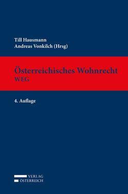 Österreichisches Wohnrecht – WEG von Hausmann,  Till, Vonkilch,  Andreas