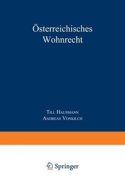 Österreichisches Wohnrecht von Hausmann,  Till, Vonkilch,  Andreas