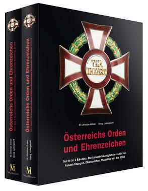 Österreichs Orden und Ehrenzeichen von Ludwigstorff,  Georg, Ortner,  M Christian