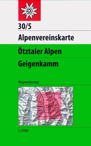 Ötztaler Alpen, Geigenkamm