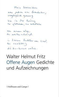 Offene Augen von Fritz,  Walter H