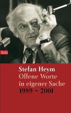 Offene Worte in eigener Sache von Heym,  Stefan