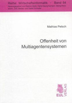 Offenheit von Multiagentensystemen von Petsch,  Mathias