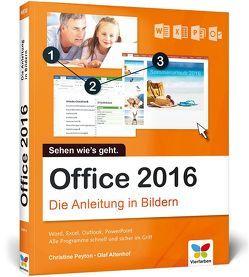 Office 2016 von Altenhof,  Olaf, Peyton,  Christine