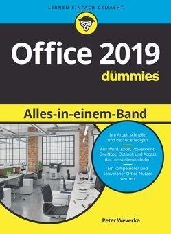 Office 2019 Alles-in-einem-Band für Dummies von Haselier,  Rainer G., Jauch,  Elke, Weverka,  Peter