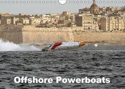 Offshore Powerboats (Wandkalender 2019 DIN A4 quer) von Sieveke,  Sven