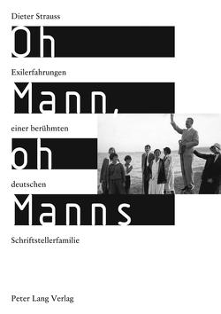 Oh Mann, oh Manns von Strauss,  Dieter