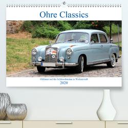 Ohre Classics – Oldtimer auf der Schlossdomäne in Wolmirstedt (Premium, hochwertiger DIN A2 Wandkalender 2020, Kunstdruck in Hochglanz) von Bussenius,  Beate