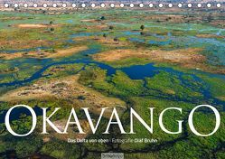 Okavango – Das Delta von oben (Tischkalender 2019 DIN A5 quer) von Bruhn,  Olaf