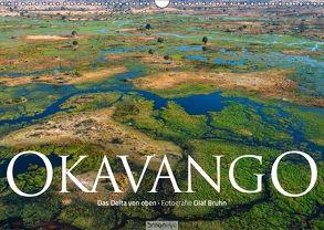 Okavango – Das Delta von oben (Wandkalender 2018 DIN A3 quer) von Bruhn,  Olaf
