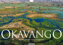Okavango – Das Delta von oben (Wandkalender 2019 DIN A4 quer) von Bruhn,  Olaf