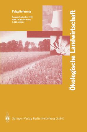 Ökologische Landwirtschaft von Lünzer,  I., Vogtmann,  H.
