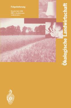 Ökologische Landwirtschaft von Lünzer,  I., Vogtmann,  Hartmut