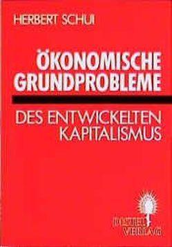 Ökonomische Grundprobleme des entwickelten Kapitalismus von Schui,  Herbert