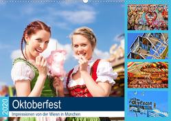 Oktoberfest 2020. Impressionen von der Wiesn in München (Wandkalender 2020 DIN A2 quer) von Lehmann (Hrsg.),  Steffani
