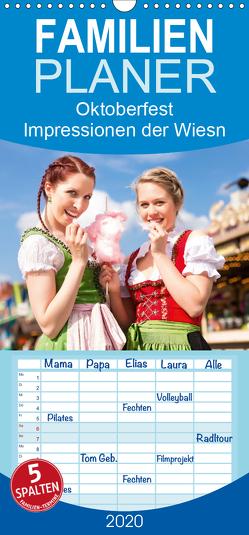 Oktoberfest – Impressionen von der Wiesn in München – Familienplaner hoch (Wandkalender 2020 , 21 cm x 45 cm, hoch) von Lehmann (Hrsg.),  Steffani