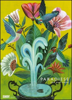 Olaf Hajek: Paradiese 2020 – DUMONT Kunst-Kalender – Poster-Format 49,5 x 68,5 cm von DUMONT Kalenderverlag, Hajek,  Olaf