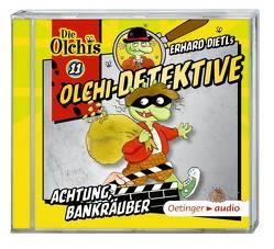 Olchi-Detektive 11 – Achtung, Bankräuber! (CD) von Bach,  Patrick, Dietl,  Erhard, Frass,  Wolf, Gustavus,  Frank, Iland-Olschewski,  Barbara, Langer,  Markus, Pappert,  Christine, Weis,  Peter