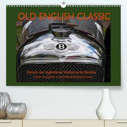 Old English Classic – Details der legendären Nobelmarke Bentley (Premium, hochwertiger DIN A2 Wandkalender 2021, Kunstdruck in Hochglanz) von Zimmermann,  H.T.Manfred