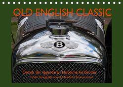 Old English Classic – Details der legendären Nobelmarke Bentley (Tischkalender 2020 DIN A5 quer) von Zimmermann,  H.T.Manfred
