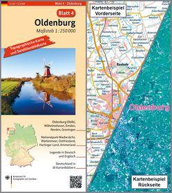 Oldenburg von BKG - Bundesamt für Kartographie und Geodäsie