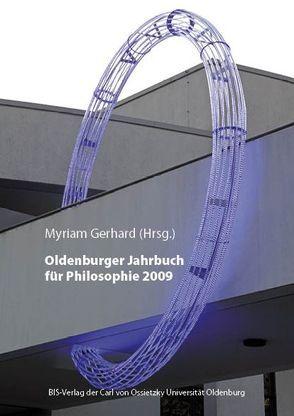 Oldenburger Jahrbuch für Philosophie 2009 von Gerhard,  Myriam