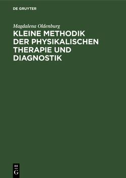 OLDENBURG:KLEINE METHODIK D PHYSIKAL.THERAPIE 2A