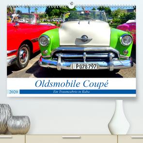 Oldsmobile Coupé – Ein Traumcabrio in Kuba (Premium, hochwertiger DIN A2 Wandkalender 2020, Kunstdruck in Hochglanz) von von Loewis of Menar,  Henning