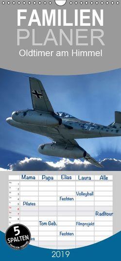 Oldtimer am Himmel – Familienplaner hoch (Wandkalender 2019 , 21 cm x 45 cm, hoch) von Robert,  Boris