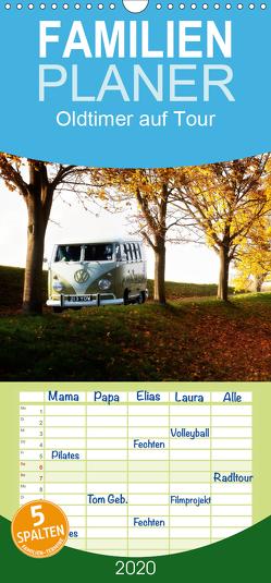 Oldtimer auf Tour – Familienplaner hoch (Wandkalender 2020 , 21 cm x 45 cm, hoch) von Adams foto-you.de,  Heribert