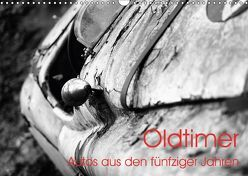 Oldtimer – Autos aus den fünfziger Jahren (Wandkalender 2018 DIN A3 quer) von Eckgold,  Frank