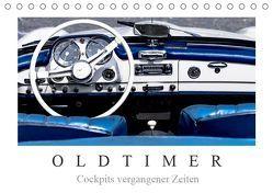 Oldtimer – Cockpits vergangener Zeiten (Tischkalender 2019 DIN A5 quer) von Meyer,  Dieter