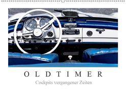 Oldtimer – Cockpits vergangener Zeiten (Wandkalender 2019 DIN A2 quer) von Meyer,  Dieter
