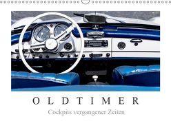 Oldtimer – Cockpits vergangener Zeiten (Wandkalender 2019 DIN A3 quer) von Meyer,  Dieter