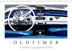 Oldtimer – Cockpits vergangener Zeiten (Wandkalender 2020 DIN A4 quer) von Meyer,  Dieter