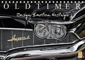 OLDTIMER – Design, Emotion, Nostalgie (Tischkalender 2021 DIN A5 quer) von Meyer,  Dieter