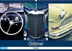 Oldtimer Details 2021 (Wandkalender 2021 DIN A2 quer) von Hebgen,  Peter