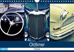 Oldtimer Details 2021 (Wandkalender 2021 DIN A4 quer) von Hebgen,  Peter
