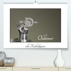 Oldtimer – edle Kühlerfiguren (Premium, hochwertiger DIN A2 Wandkalender 2020, Kunstdruck in Hochglanz) von Ehrentraut,  Dirk