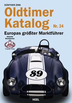 Oldtimer-Katalog Nr. 34 von Zink,  Günther