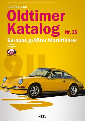 Oldtimer-Katalog Nr. 35 von Zink,  Günther